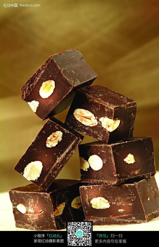 方形巧克力块