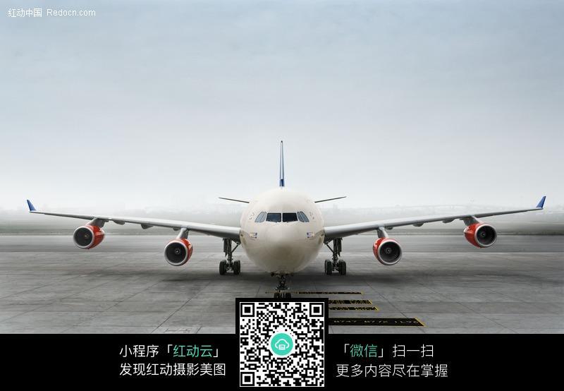 瑞士航空公司 飞机 正面 机头 客机 sas 航空飞机  波音飞机 全景照片