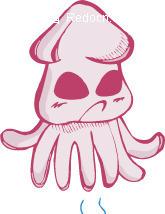 章鱼动物-鲨鱼矢量图_水中插画明日之后有卡通吗图片