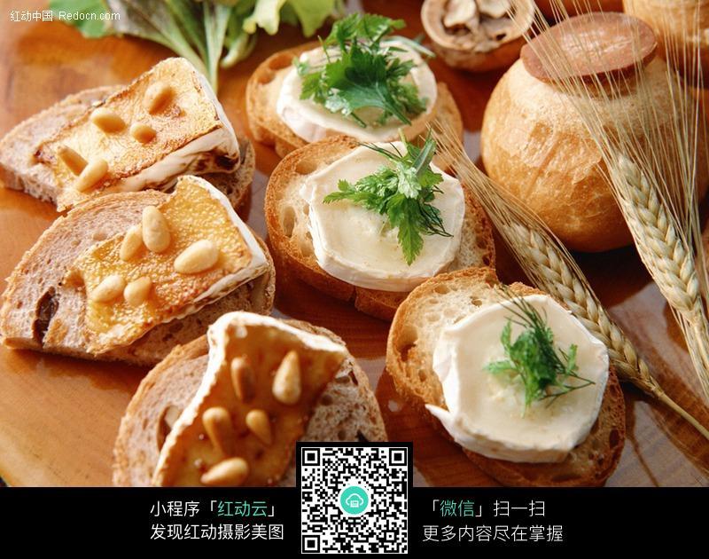 带图库的面包片美食-美食奶油 图片库素材下载图片网奉节图片