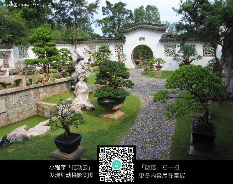 中式庭院_园林景观图片图片