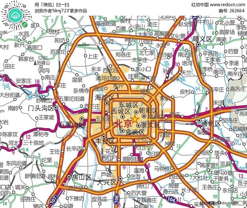 地图 北京 北京城区地图
