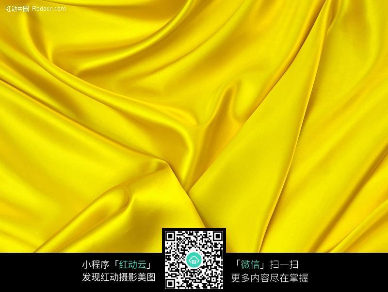 褶皱的黄色绸缎背景素材图片免费下载 编号265009 红动网