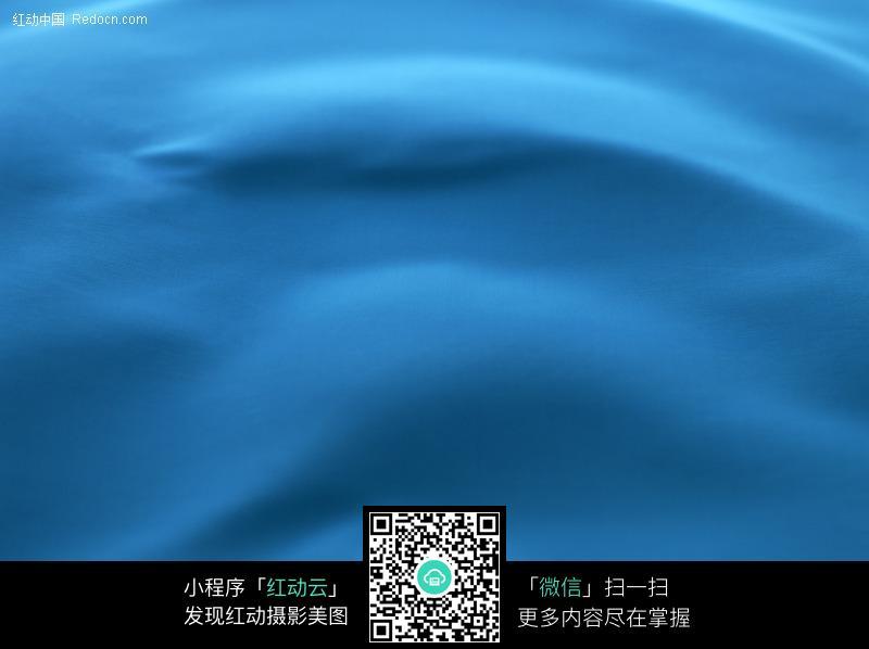 蓝色布艺背景图片