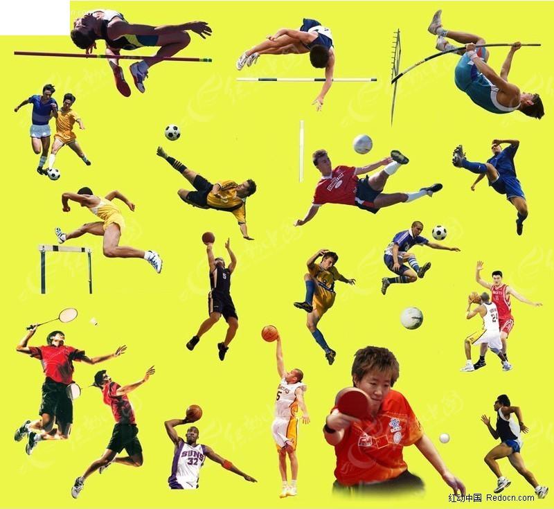 体育图片素材_