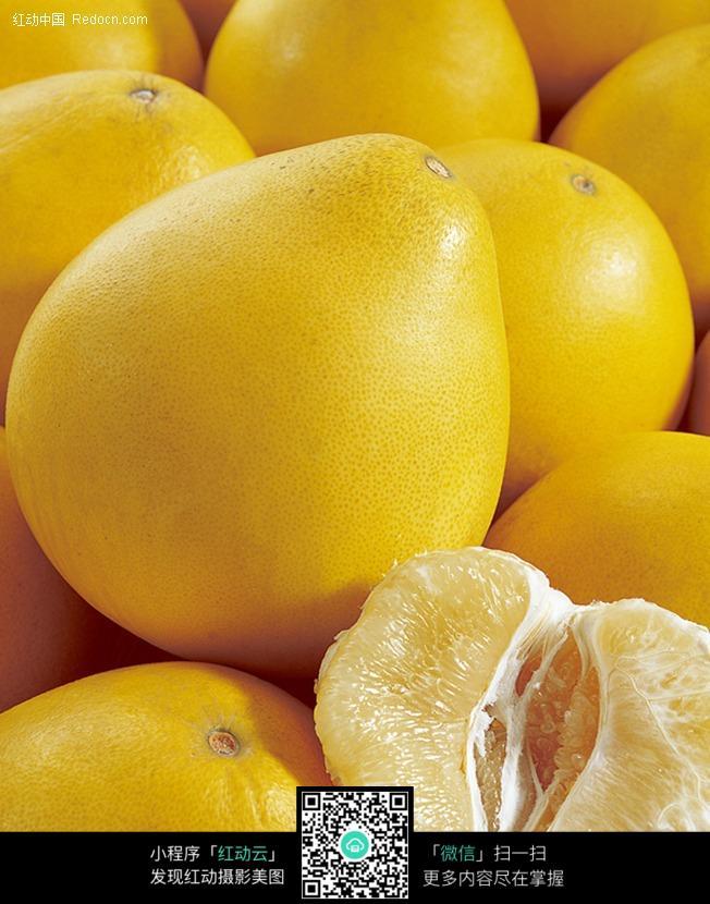 彩铅手绘柚子图片