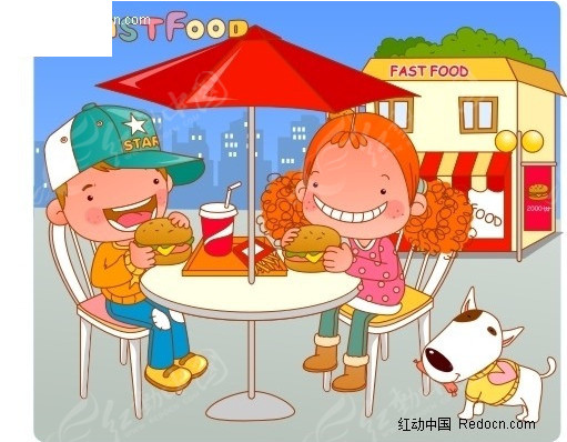 美食畅享漫画图片人物