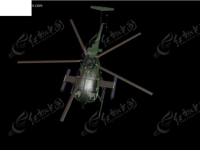 小鸟武装直升机