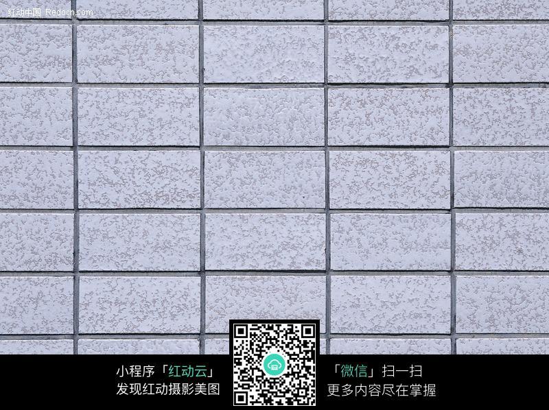 浅灰蓝瓷砖墙体图片
