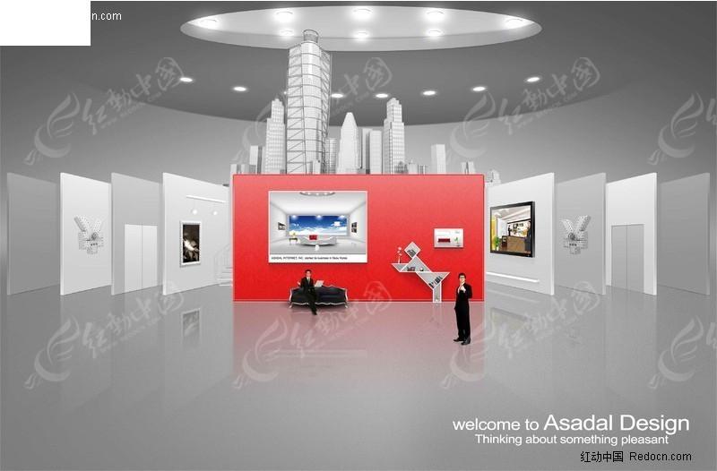 科技展厅商务素材图片