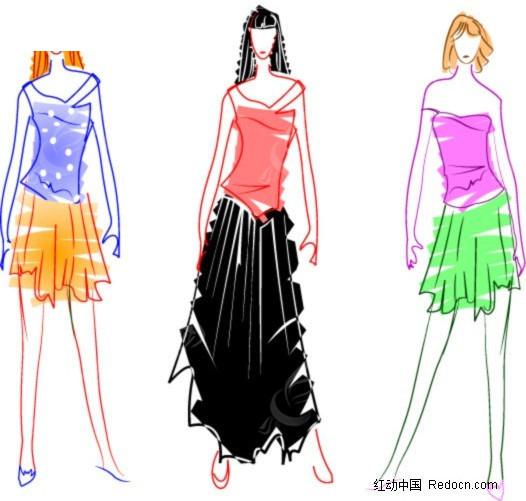 服装 模特效果图