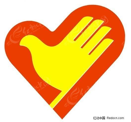 中国青年志愿者标志CDR免费下载 公共标志素材