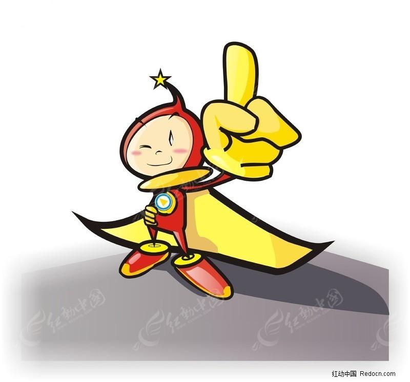 小超人 卡通人物 鼠绘