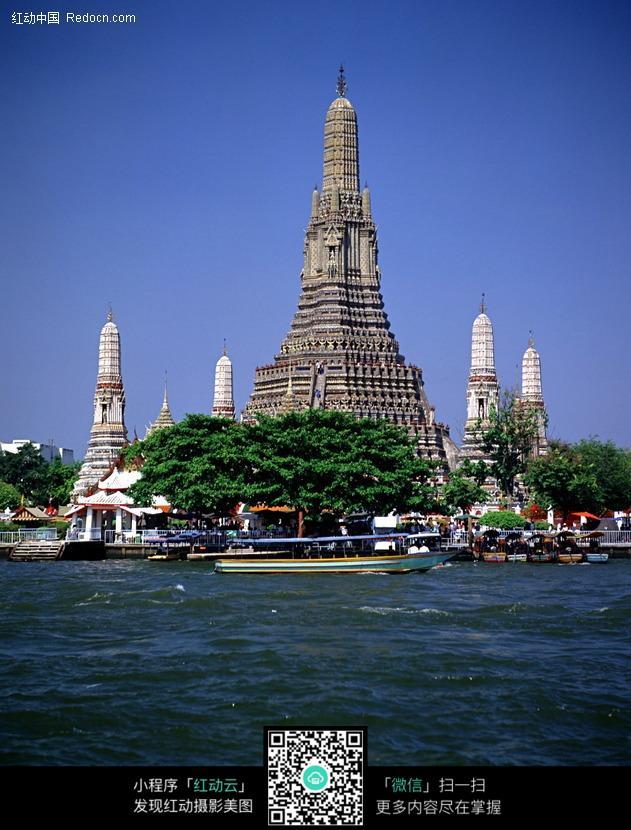 泰国佛塔建筑图片_名胜古迹图片