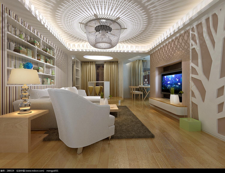 客厅设计欣赏_室内设计