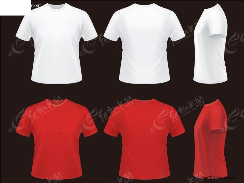 服装设计手绘图片红色