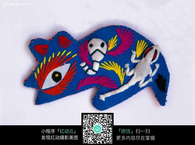 中国传统民间手工艺品-布艺鼠图片