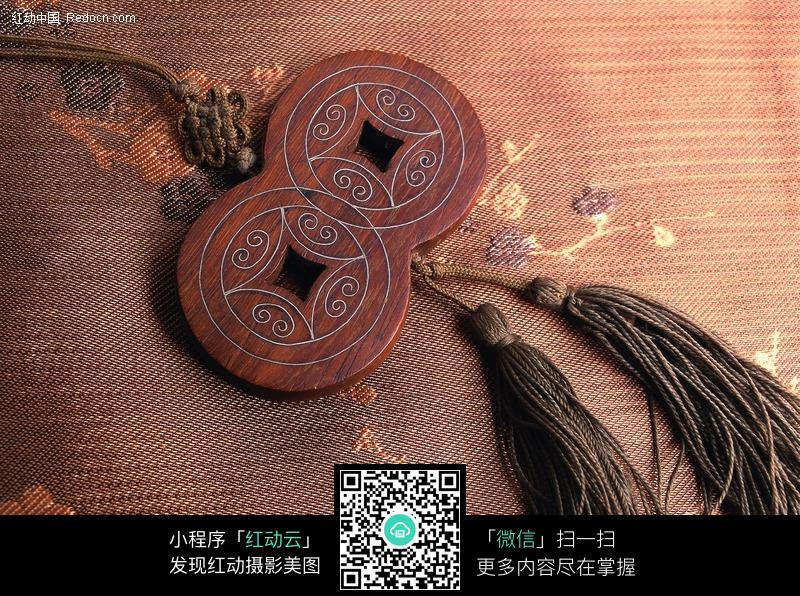 中国古代铜钱符饰品