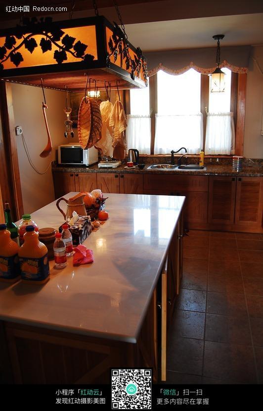 厨房导台图片