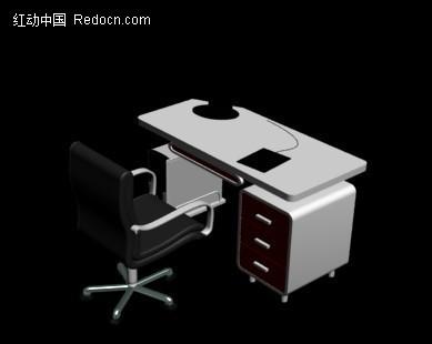 电脑桌 桌子 3d电脑桌模型 三维建模  3d模型下载 3d素材
