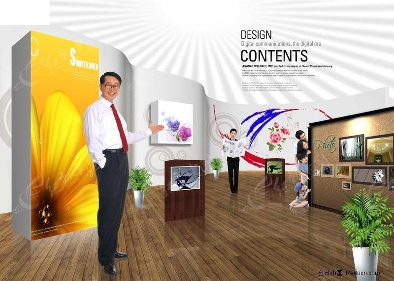 室内展厅图片素材图片