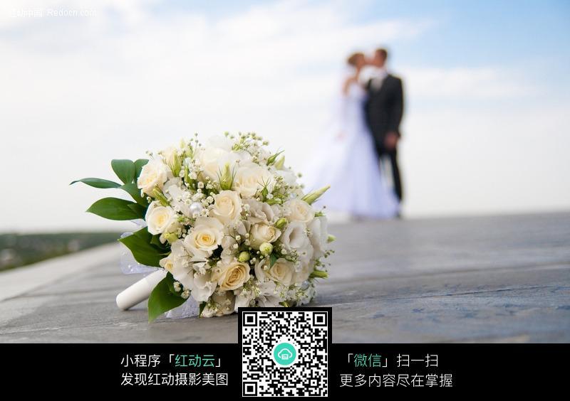 婚礼花篮花束_花草树木图片_红动手机版