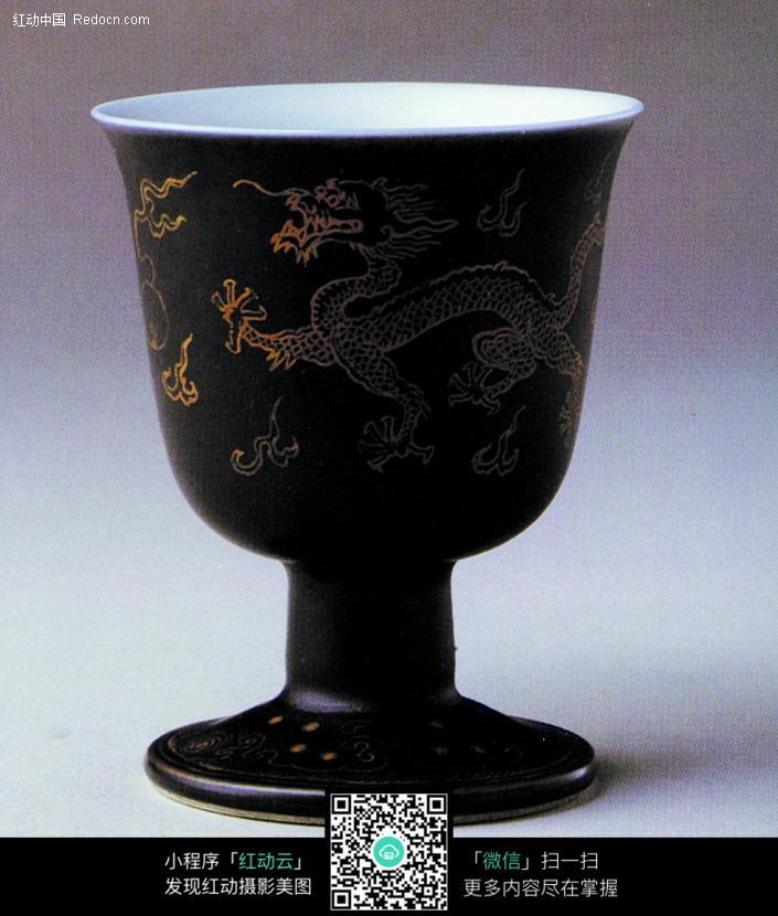 中国瓷器文物收藏 龙纹瓷酒杯图片免费下载 编号315367 红动网