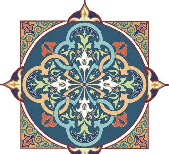 彩色华丽的适合纹样AI素材免费下载 编号318761 红动网图片