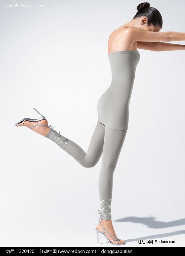 连裤袜丝袜美女图片