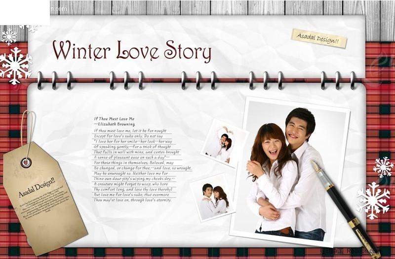 爱情日记图片素材