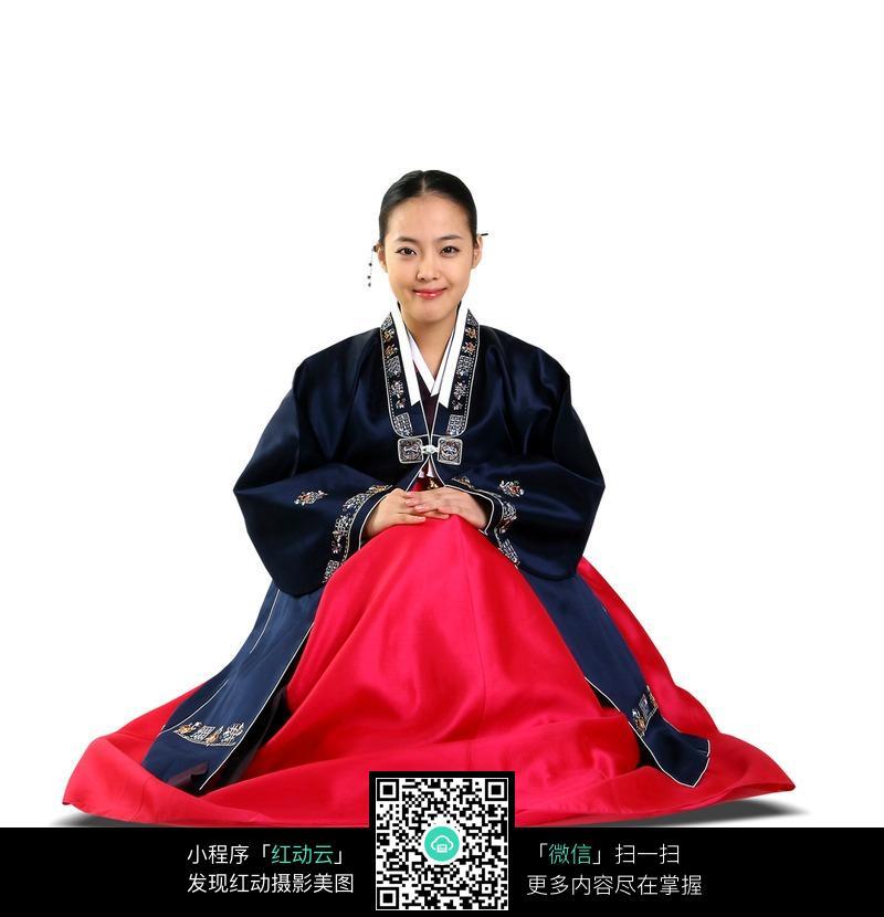 朝鲜族服饰 民族服装 韩服 美女  美女图片 女人女性 摄影图片 人物