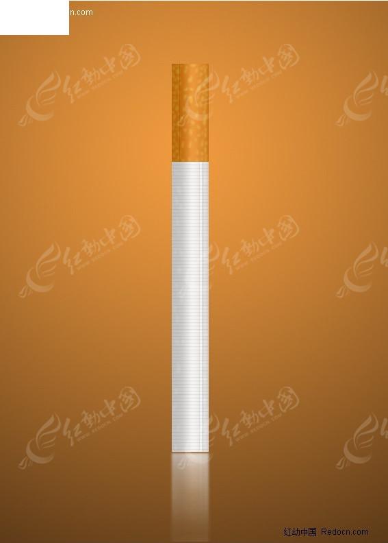 香烟ps效果图片