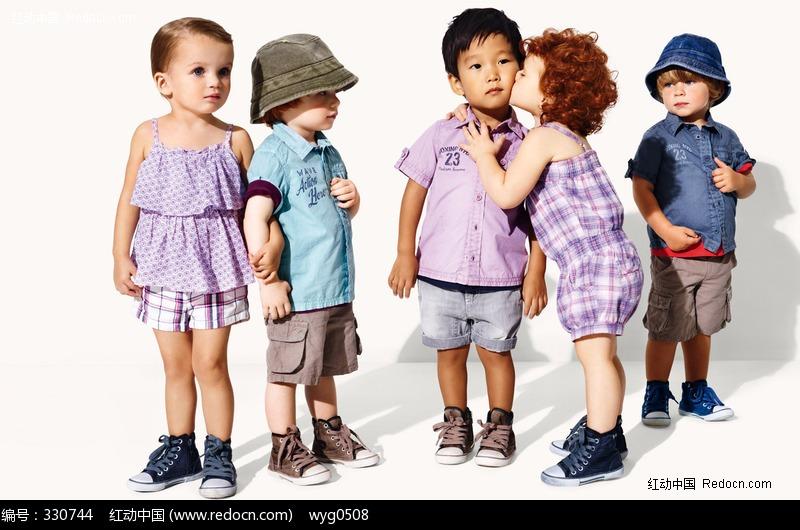 少儿服装模特_儿童幼儿图片