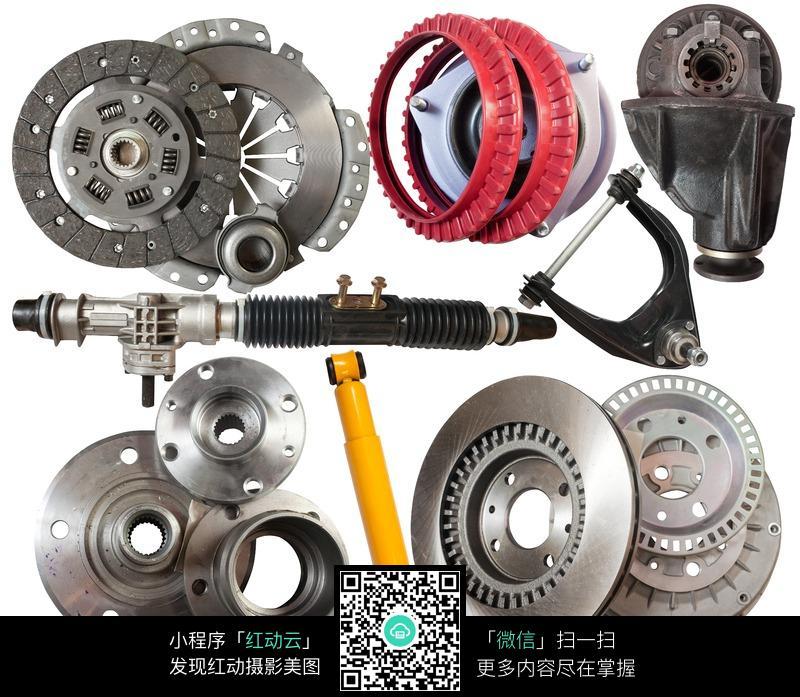 汽车刹车片零件配件图片高清图片