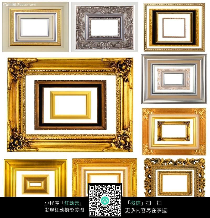 免费素材 图片素材 背景花边 边框相框 金色欧式相框  请您分享: 红动