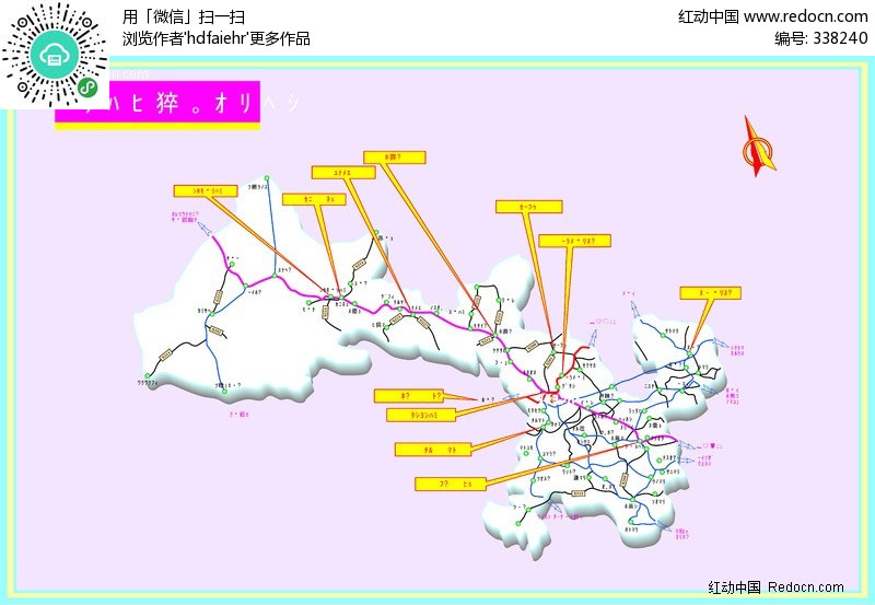 甘肃省交通-矢量地图矢量图其他免费下载_其他素材