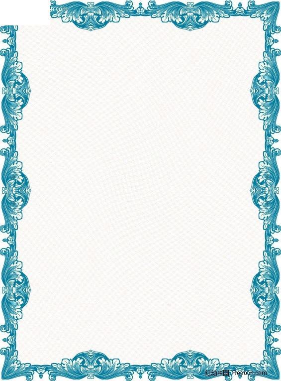欧式边框 边框 花边 外框图片