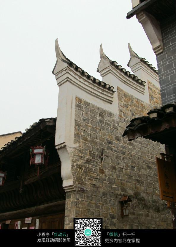 中式古典屋檐图片图片