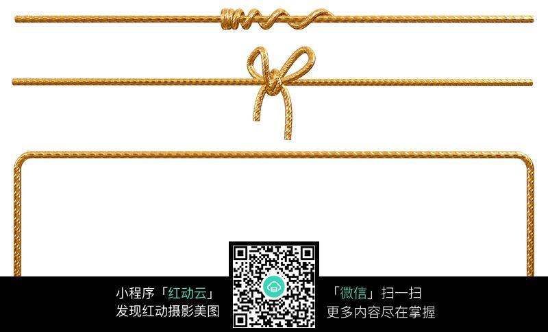 十字形绳子绳结_生活用品图片