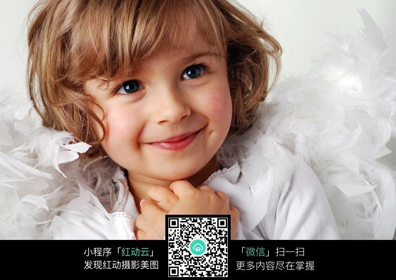 可爱的外国金发小孩图片