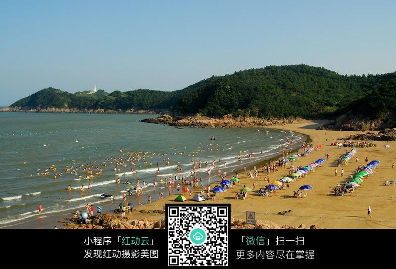 松兰山风景图片