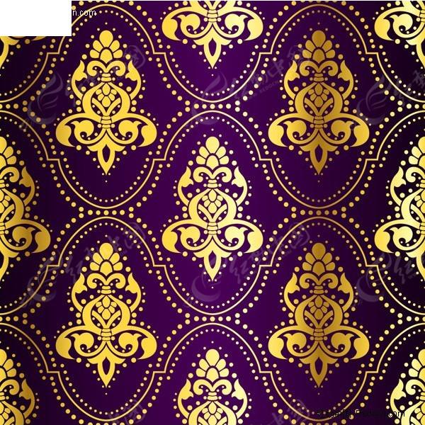欧式花窗帘绒布娄空 深紫色