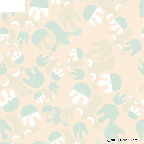 水母装饰图形背景图
