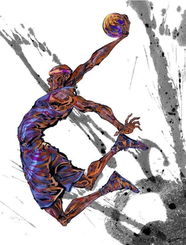 ps篮球海报素材大图