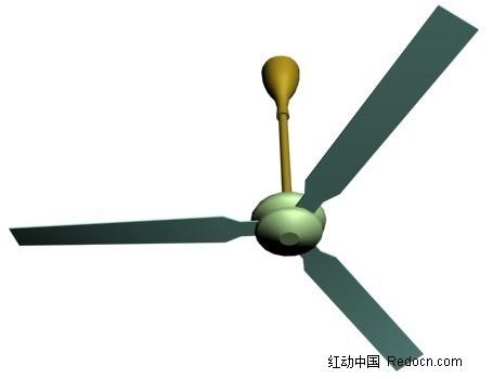 吊顶电风扇_家用电器;