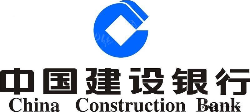 建行logo手绘