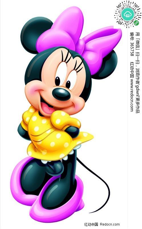 卡通人物米奇米妮米老鼠图片