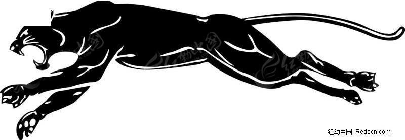 漫威黑豹手绘图稿
