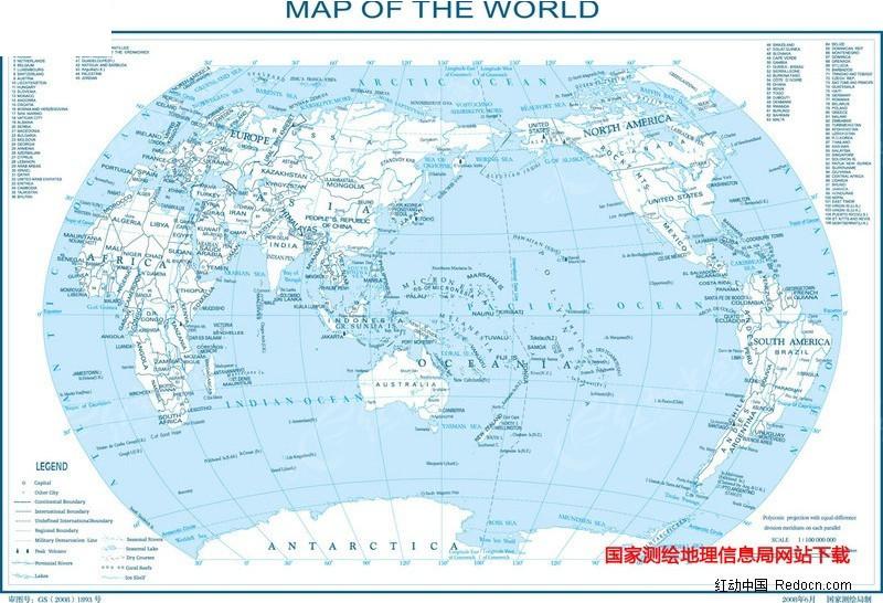 世界地图-8k矢量图_其他