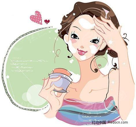 美容化妆品行业矢量素材